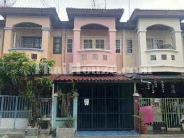 ขายทาวน์เฮ้าส์ 2 ชั้น หมู่บ้านศิริวรรณ-ชวนชม คลองเจ็ก 16 ตร.ว. 3 ห้องนอน