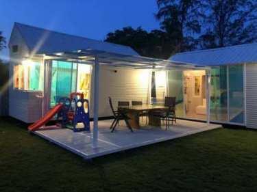 มีบ้านได้ง่าย จ่ายแค่หลักแสน Tiny House (ส่งทั่วประเทศไทย) บ้านน้อยเคลื่อนที่